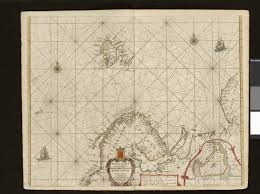 Barents Sea Map 1659 Map Of The Barents Sea Northern Norway Sweden Finland