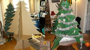 cardboard christmas tree the beauty of the ultimate cardboard christmas tree make