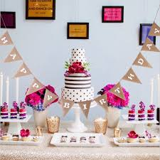 happy birthday hessian bunting banner flags birthday party home
