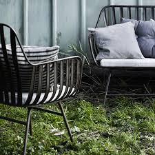 canape jardin aluminium mobilier de jardin metal salon jardin tresse maisonjoffrois