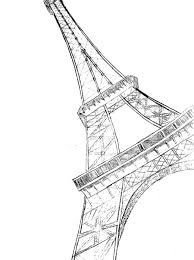 eiffel tower drawing sketcheiffel tower sketch by potterfisk0177