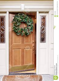 Plastic Front Door by Decorating Beauteous Christmas Wreath Front Door Inspiration