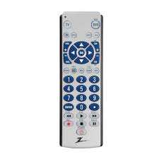 zenith 2 device big button remote control zb210 the home depot