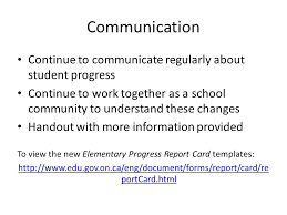 elementary progress report template keeping you informed about changes to the elementary progress