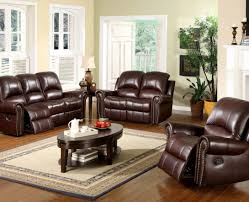 sofa ravishing leather sofa sets with recliner fascinating