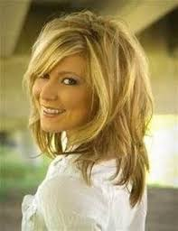 haircuts for late 40 s medium length layered hairstyles shaggy hairstyles shaggy and bangs