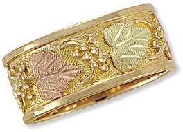dakota wedding band 78 best black gold wedding rings images on gold