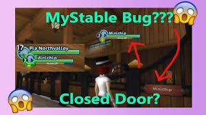 Stall Door Sso Mystable Bug Close The Stall Door Fixed Youtube