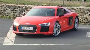 audi r8 ads audi r8 v10 plus spotted in the metal during ad filming with