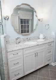 Omega Bathroom Cabinets by Door Bathroom Traditional With Tile Floor Chrome Cabinet And