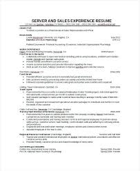 cocktail waitress resume samples server waitress resume cocktail