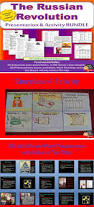 russian revolution lecture and storyboard activity world history