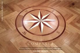 no 137 the compass i hardwood floor medallion pattern pavex parquet