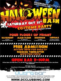 Halloween Costumes Nightclubs Halloween Dc Nightclubs Panorama Productions Presents 2
