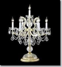 Chandalier Table Lamp Swarovski Lamps Swarovski Crystal Table Lamp Chandeliers