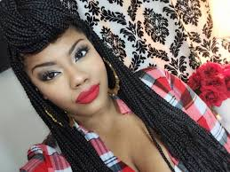 Fun Box Braids Styles Video Box Braids Styling Box Braids And