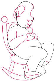Old Man In Rocking Chair 2 Chair And Arms How To Draw A Napping Old Man Cartoon
