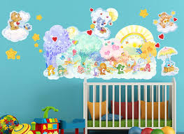 care bears forest feelings wall decals