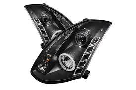 nissan altima 2005 headlight spyder projector headlights set fast u0026 free shipping