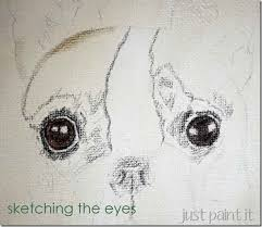 boston terrier sketch and french onion dip just paint it blog