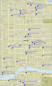 Map Of Hotels In Chicago Magnificent Mile by North Michigan Hotels Map
