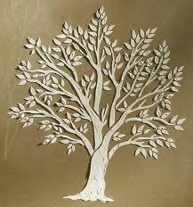 plaster stencil miniature tree walls stencils plaster stencils