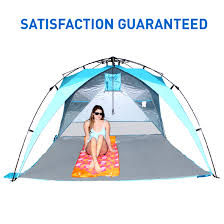 Walmart Cabana Tent by 8 Foot Easygo Shelter Xl Instant Beach Umbrella Tent Pop Up Easy