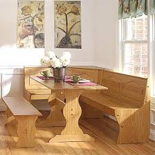 breakfast nook table only linon chelsea breakfast corner nook table set in natural dining