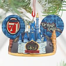 magic kingdom 45th anniversary light up ear hat ornament walt