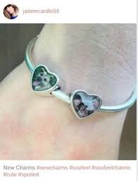 personalized picture charms keep him forever soufeel personalized charm bracelet for every