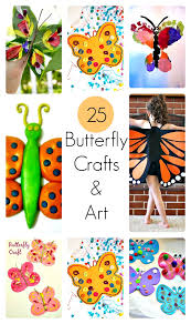 25 butterfly crafts and art activities for kids kids play box