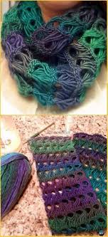 crochet broomstick lace broomstick lace infinity scarf broomstick lace designs and