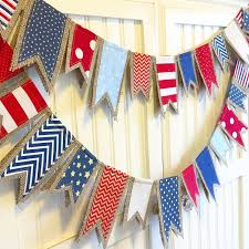 4th of july burlap banner mumli pinterest burlap banners