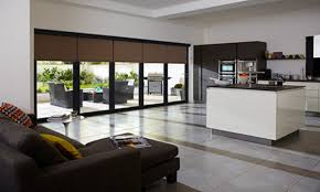 large folding glass doors electric blinds for sliding glass doors
