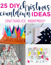 christmas countdown ideas advent calendars easy christmas crafts