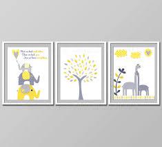 Yellow And Gray Nursery Decor Yellow And Grey Nursery Decor Room Decor Baby Children