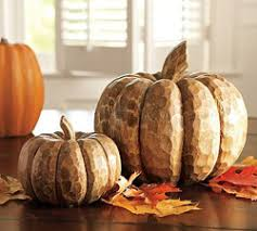 Pottery Barn Halloween Decorations Pottery Barn Carved Wood Pumpkins 9 Great Halloween Decorations U2026