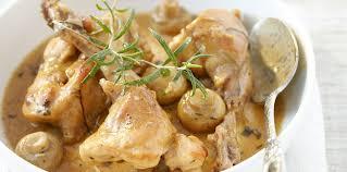 cuisiner du lapin facile lapin à la moutarde sans vin blanc facile recette sur cuisine