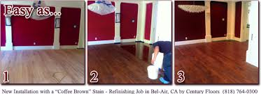 wood floor color matching bleaching and custom staining with