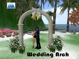 wedding arches sale second marketplace garden wedding arch w cuddle animation