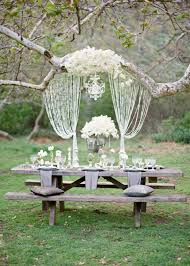 Country Backyard Wedding Can A Backyard Wedding Be Glamorous Hang A Crystal Chandelier In