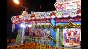 decorate mandir at home subhalagna temple flower decoration youtube