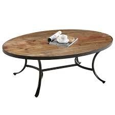 table unusual oval coffee tables wood pine veneer construction