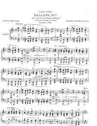 4 ballades op 10 brahms johannes imslp petrucci music