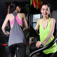 aliexpress com buy two pieces women exercise loose tank tops
