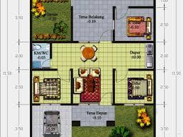 layout ruangan rumah minimalis contoh denah rumah minimalis 3 kamar tidur yang apik