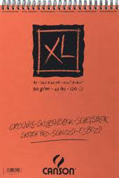 canson xl spiral sketch pads ken bromley art supplies