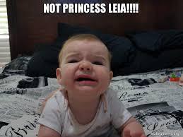 Princess Leia Meme - not princess leia make a meme