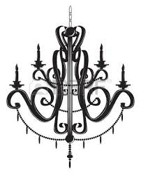 Black Chandelier Clip Art 714 Crystal Chandelier Stock Vector Illustration And Royalty Free