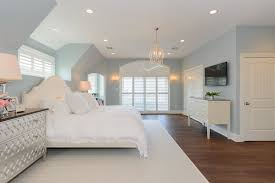 silver gray paint colors transitional bedroom benjamin moore